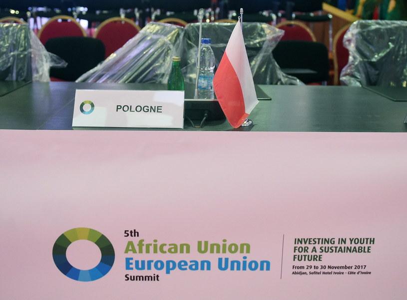 Sala obrad plenarnych w hotelu Sofitrl w Abidżanie /Radek Pietruszka /PAP/EPA