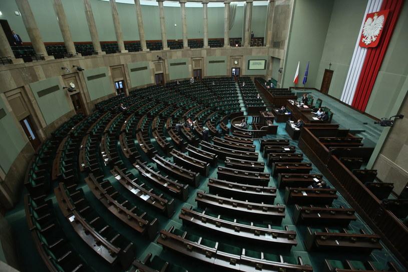 Sala obrad Sejmu /Rafał Guz /PAP