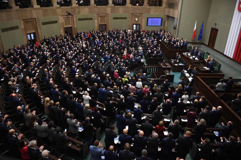 Sala obrad Sejmu /Radek Pietruszka /PAP