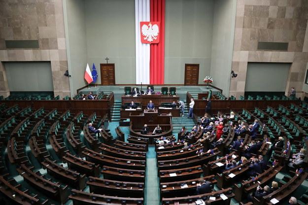 Sala obrad Sejmu /Wojciech Olkuśnik /PAP