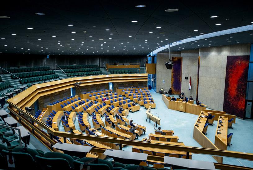 Sala obrad Tweede Kamer, niższej izby holenderskiego parlamentu /HOLLANDSE HOOGTE/East News /East News