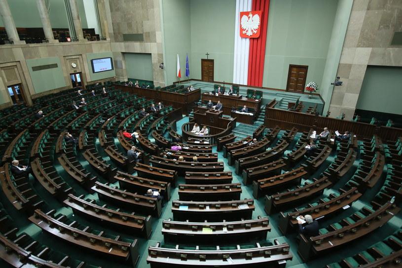 Sala obrad /Leszek Szymański /PAP