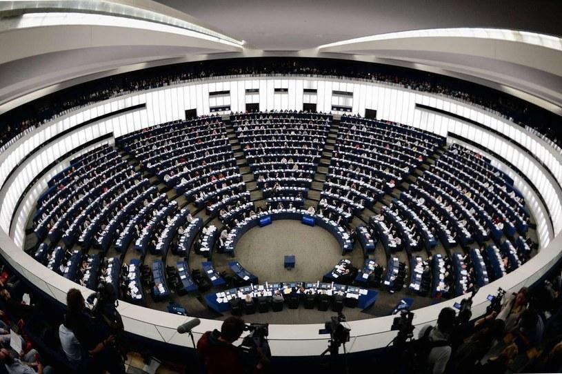 Sala plenarna Parlamentu Europejskiego /AFP