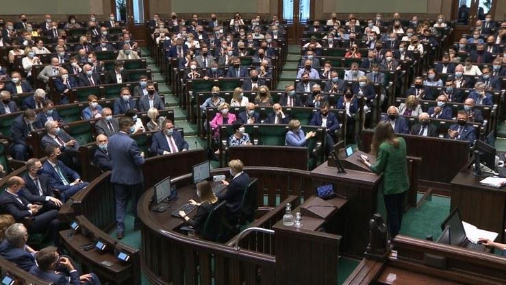 Sala plenarna Sejmu. Zdjęcie ilistracyjne /Polsat News