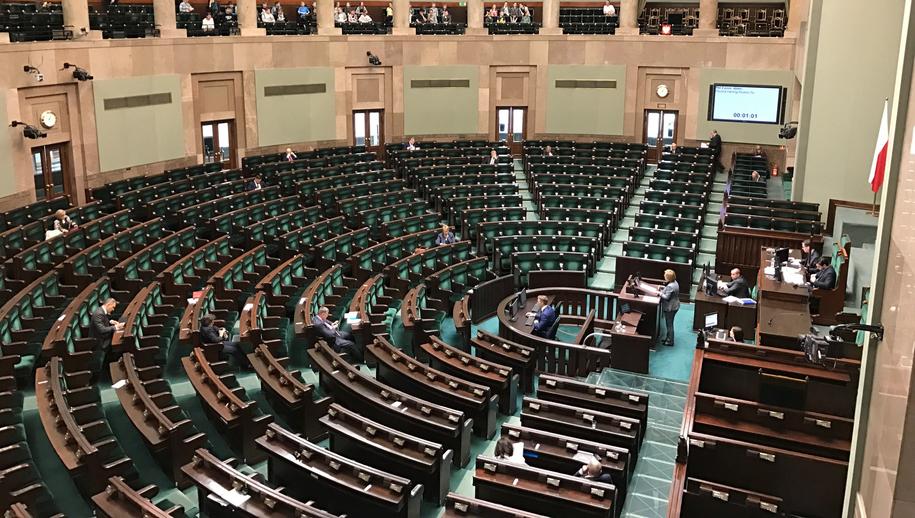 Sala plenarna Sejmu /Mariusz PIekarski /RMF FM