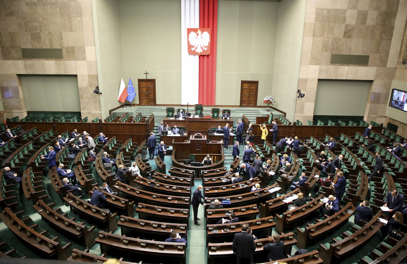 Sala plenarna Sejmu /Piotr Molecki /East News