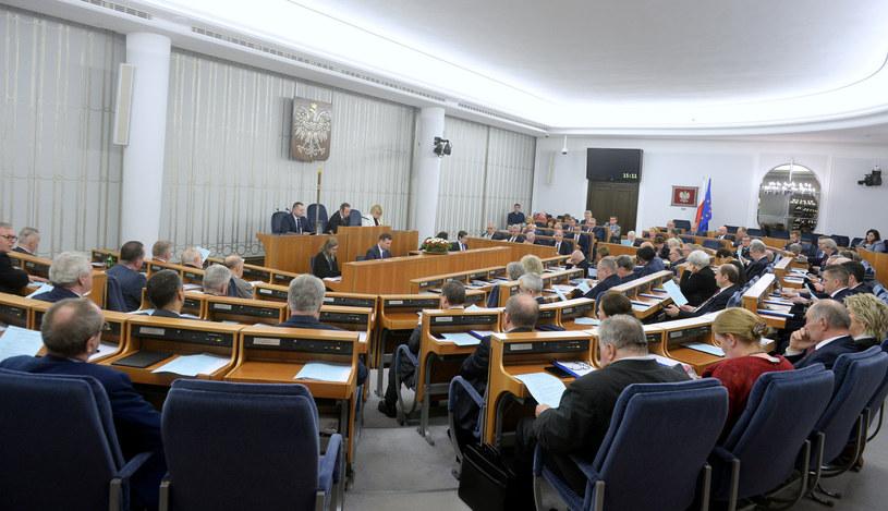 Sala plenarna Senatu, zdjęcie ilustracyjne /Jan Bielecki /East News