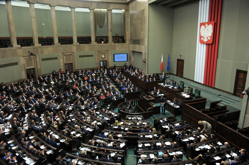Sala plenarna w Sejmie /Jan Bielecki /East News