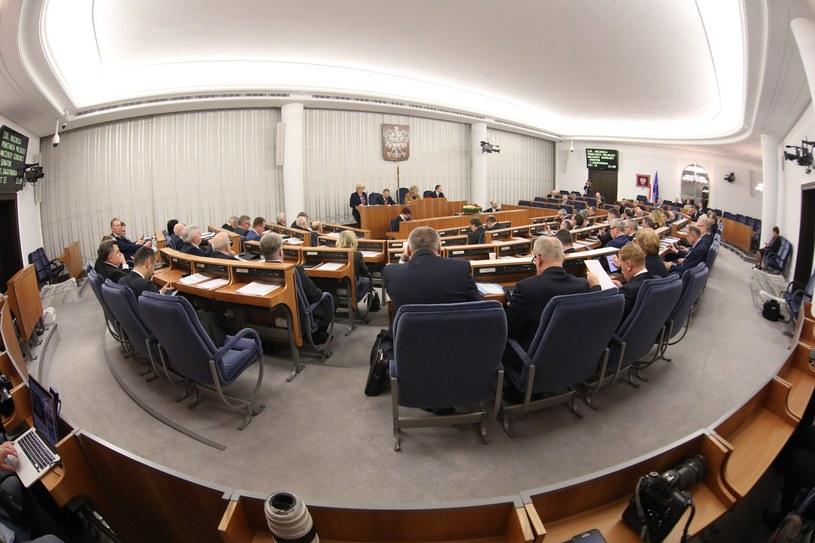 Sala posiedzeń Senatu /STANISLAW KOWALCZUK /East News