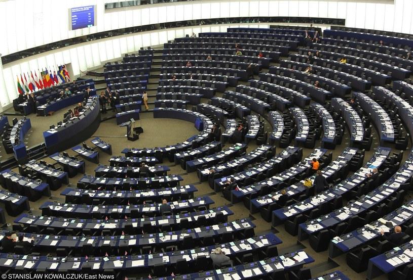 Sala posiedzeń w Parlamencie Europejskim /STANISLAW KOWALCZUK /East News