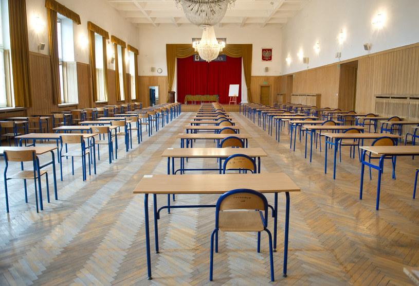 Sala przed egzaminem, zdjęcie ilusracyjne /Bartosz Krupa / East News /East News