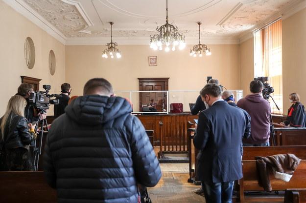Sala rozpraw, na której zapadł wyrok w sprawie Marka W. /Jan Dzban /PAP