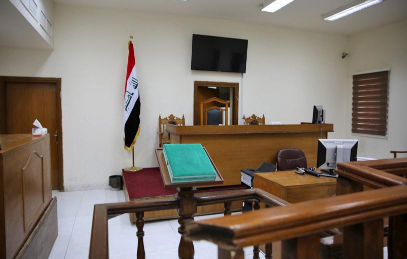 Sala rozpraw w Bagdadzie; zdj. ilustracyjne /AFP