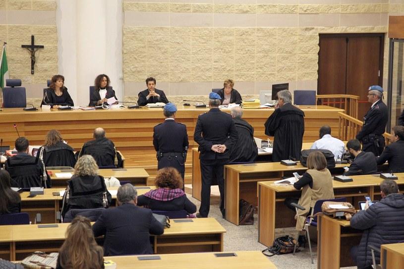Sala rozpraw w sądzie w Rimini /pp /Reporter