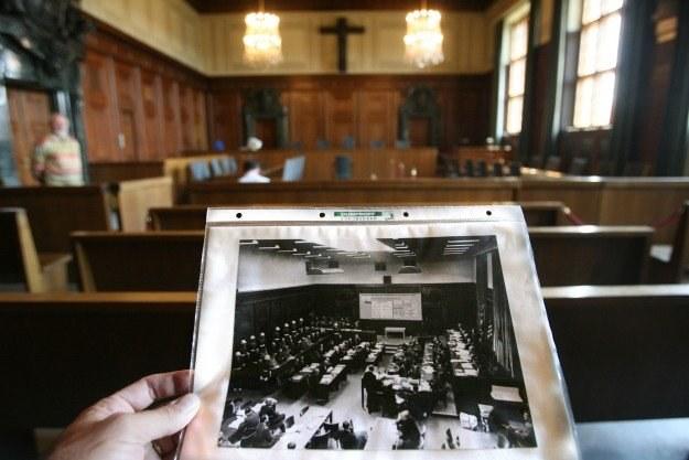 Sala sądowa, w której odbył się proces zbrodniarzy hitlerowskich /AFP