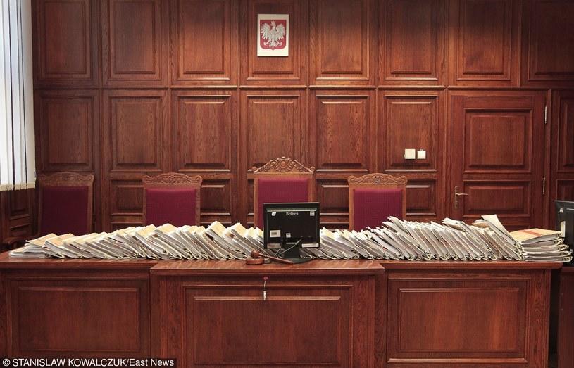 Sala sądowa, zdj. ilustracyjne /STANISLAW KOWALCZUK /East News