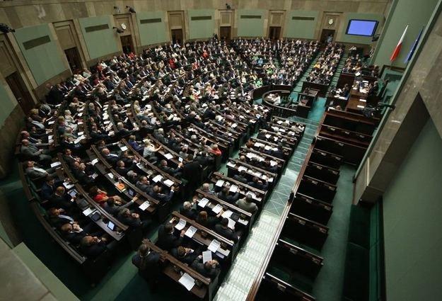 Sala sejmowa /Stanisław Kowalczuk /East News