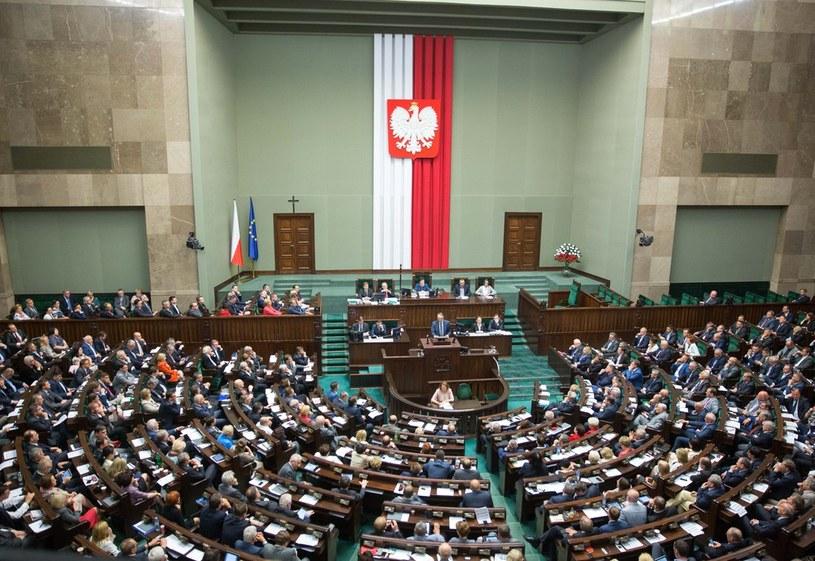 Sala sejmowa /Andrzej Iwańczuk /Reporter