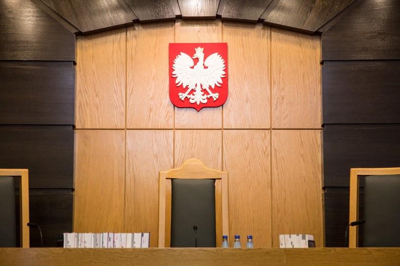 Sala w gmachu Trybunału Konstytucyjnego /Maciej Luczniewski /Reporter
