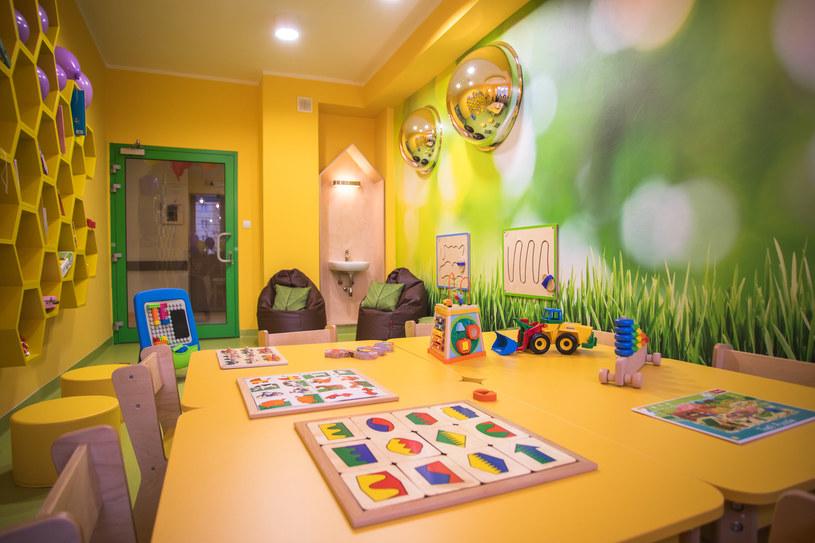 Sala zabaw w szpitalu w Kutnie /materiały prasowe