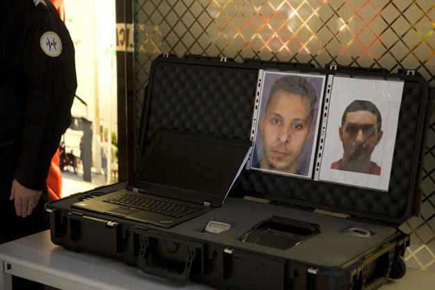 Salah Abdeslam i Mohamed Abrini są już w rękach policji /AFP