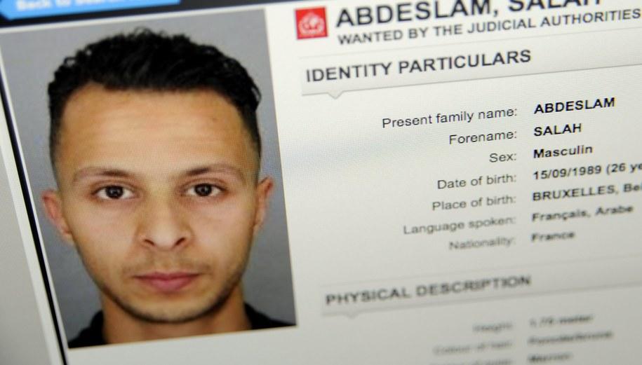 Salah Abdeslam /Alexandre MARCHI /PAP/EPA