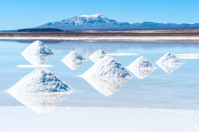 Salar de Uyuni w Boliwii /123RF/PICSEL