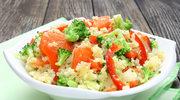 Sałatka arabska z brokułami