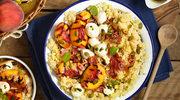 Sałatka z kuskusem i mozzarellą