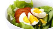 Sałatka z ogórkami i jajkiem