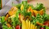 Sałatka z sosem miodowo-musztardowym
