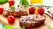 Sałatka z wołowiną i kalafiorem