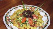 Sałatka ziemniaczana z szynką