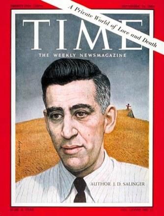 "Salinger na okładce ""Time"" /Archiwum"