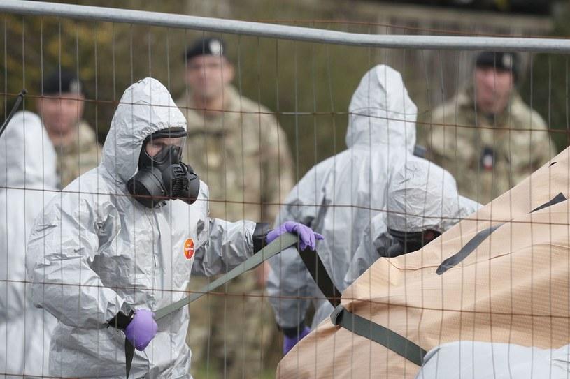 Salisbury: zabezpieczanie śladów po ataku na Skripala /AFP