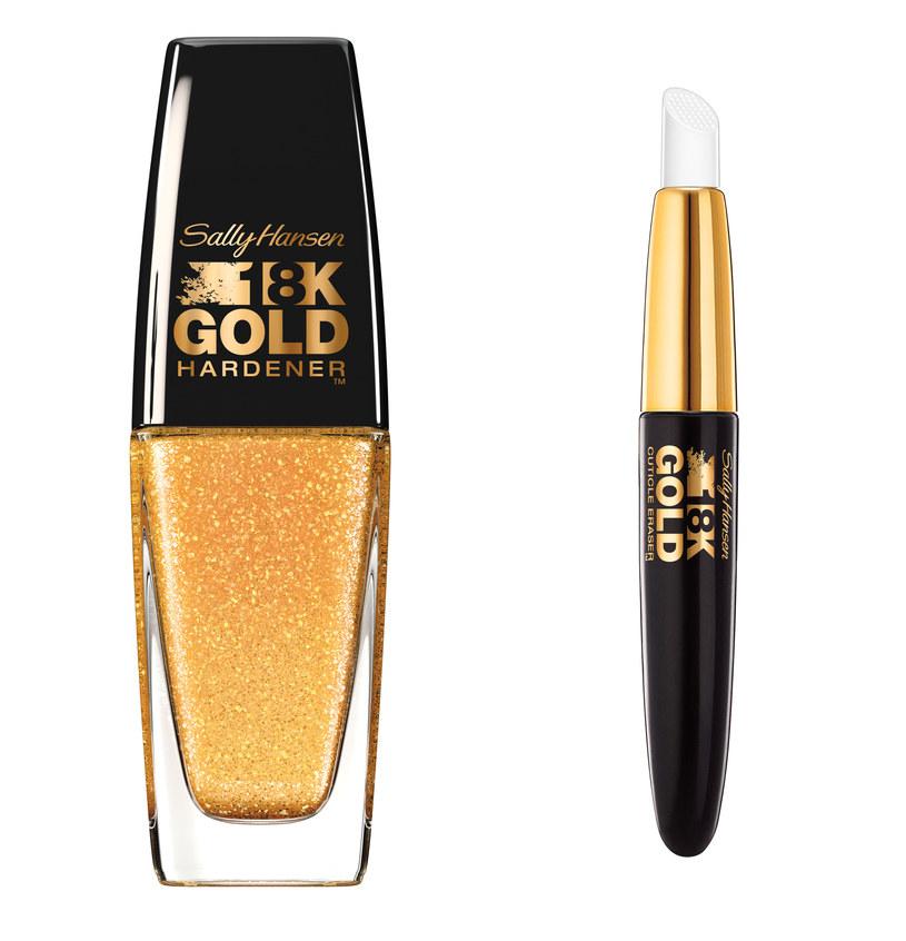 Sally Hansen 18 k gold /materiały prasowe
