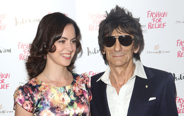Sally Humphries, Ronnie Wood /Tim Whitby /Getty Images