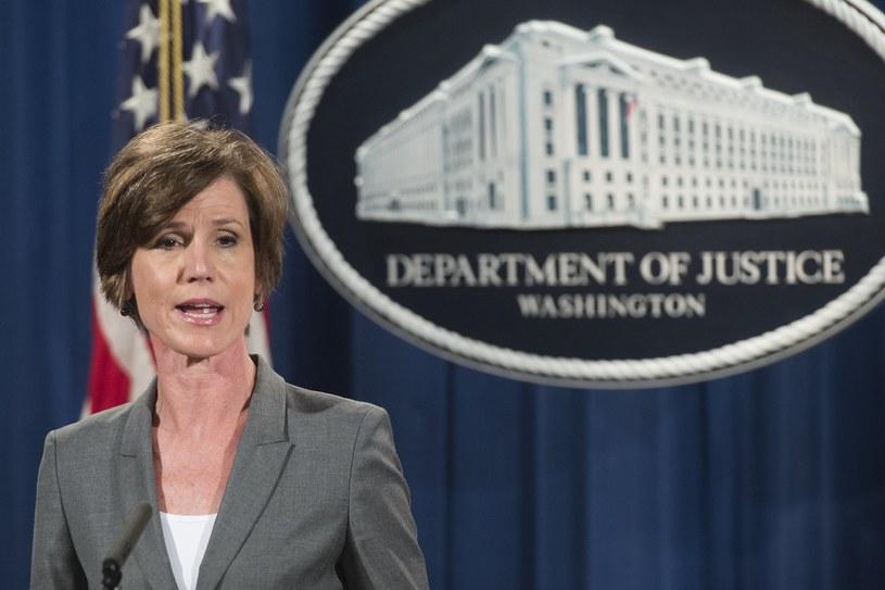 Sally Yates /SAUL LOEB /AFP