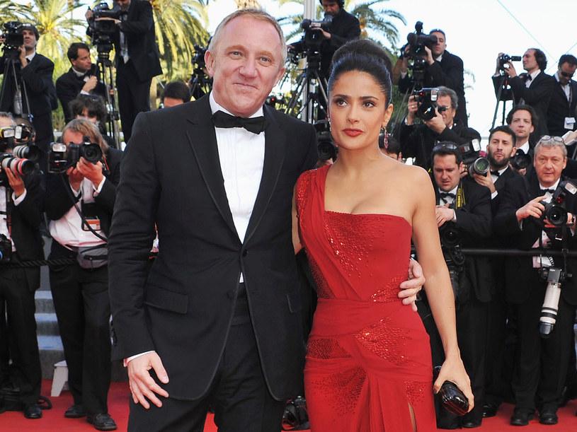 Salma Hayek i jej mąż Francois-Henri Pinault  /Getty Images/Flash Press Media
