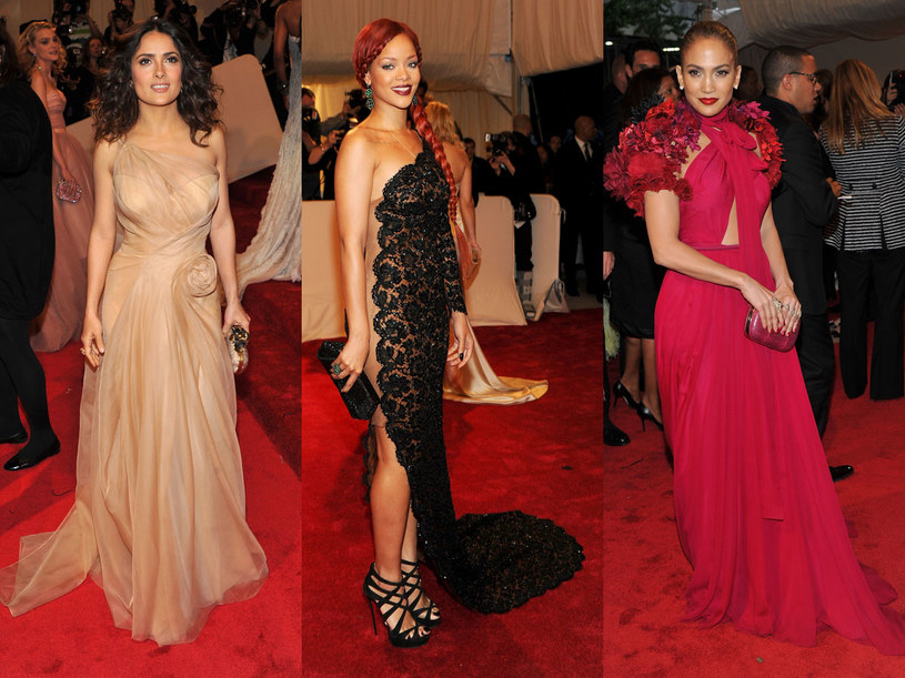 Salma Hayek, Jennifer Lopez i Rihanna  /Getty Images/Flash Press Media