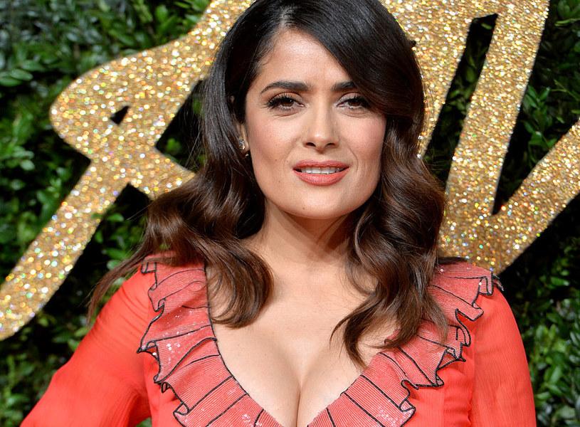 Salma Hayek jest jedną z najbardziej popularnych meksykańskich aktorek /Anthony Harvey / Stringer /Getty Images