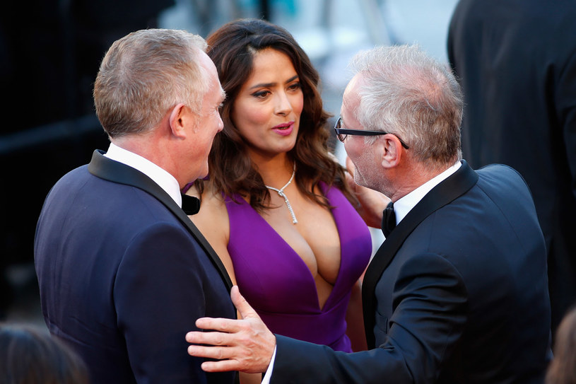 Salma Hayek na festiwalu w Cannes /Getty Images