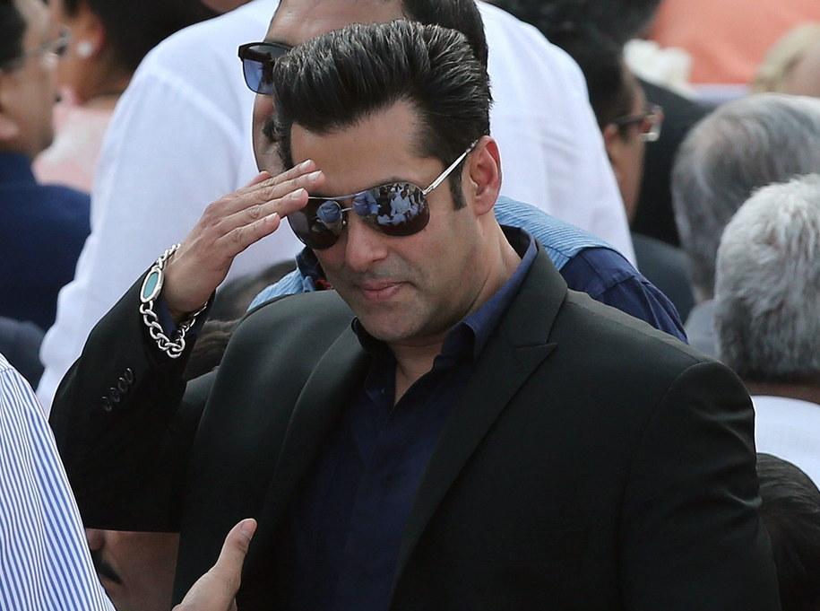 Salman Khan /HARISH TYAGI   /PAP/EPA