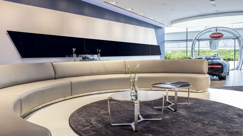 Salon Bugatti w Dubaju /