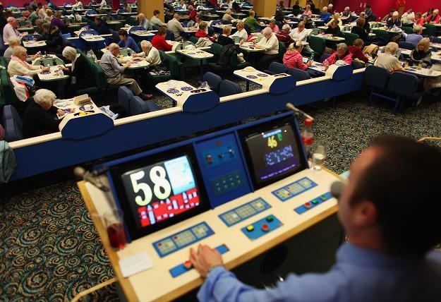 Salon do bingo. Fot. Jeff J. Mitchell /Getty Images/Flash Press Media