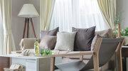 Salon i sypialnia z cieplejszą nutą