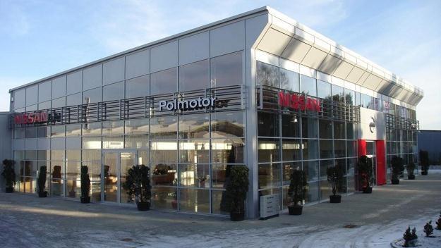 Salon Nissana w Szczecinie /