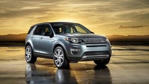 Salon Paryż 2014 - Land Rover Discovery Sport - minidisco