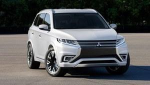 Salon Paryż 2014 - Mitsubishi Outlander PHEV Concept S