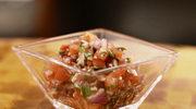 Salsa z pomidorów z bazylią i czosnkiem